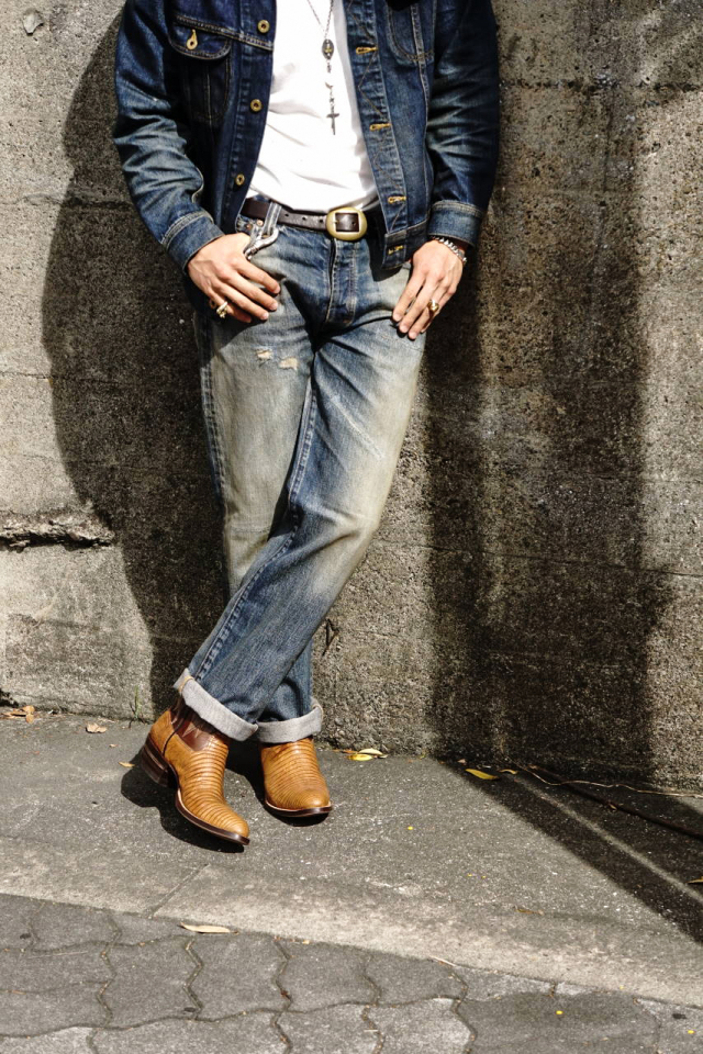 OLD CROW OLD RODDER - DENIM  PANTS