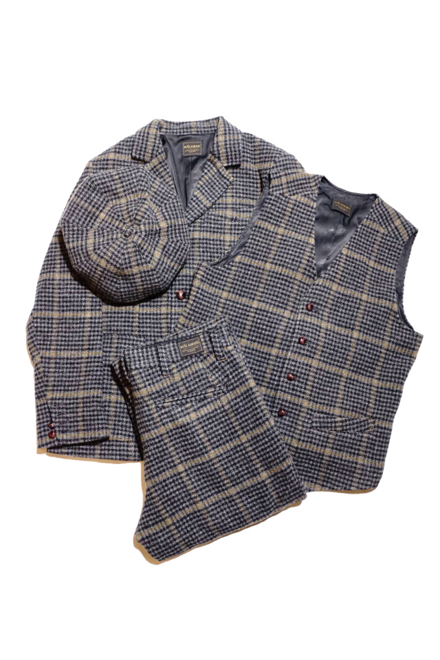 BY GLAD HAND BROOKLYN - TWEED JACKET GRAY