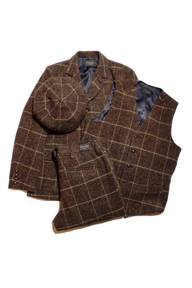 BY GLAD HAND BROOKLYN - TWEED JACKET BROWN