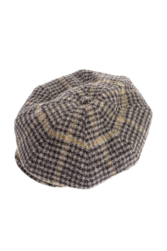 BY GLAD HAND BROOKLYN - TWEED CASQUETTE