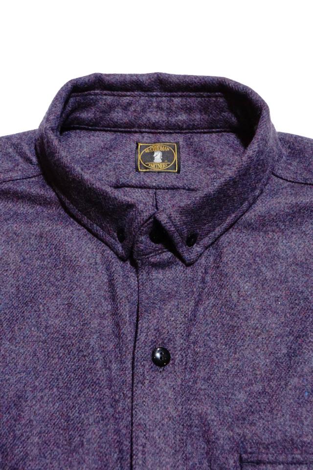 ANDFAMILYS CO. Lamb's Wool Saxony Shirts