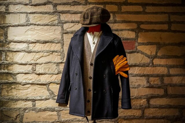 BY GLAD HAND GLADDEN - COAT ※MIDDLE NAVY