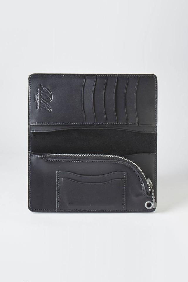 ADDICT CLOTHES JAPAN ACV-W01H HORSEHIDE LONG WALLET BLACK