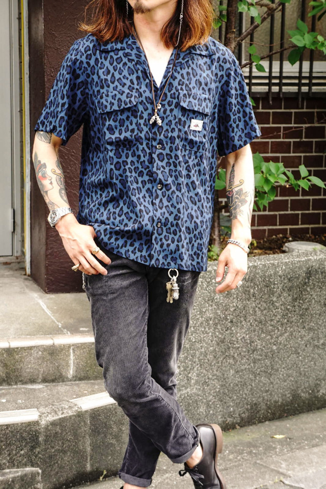 GANGSTERVILLE RISE ABOVE - S/S SHIRTS BLUE