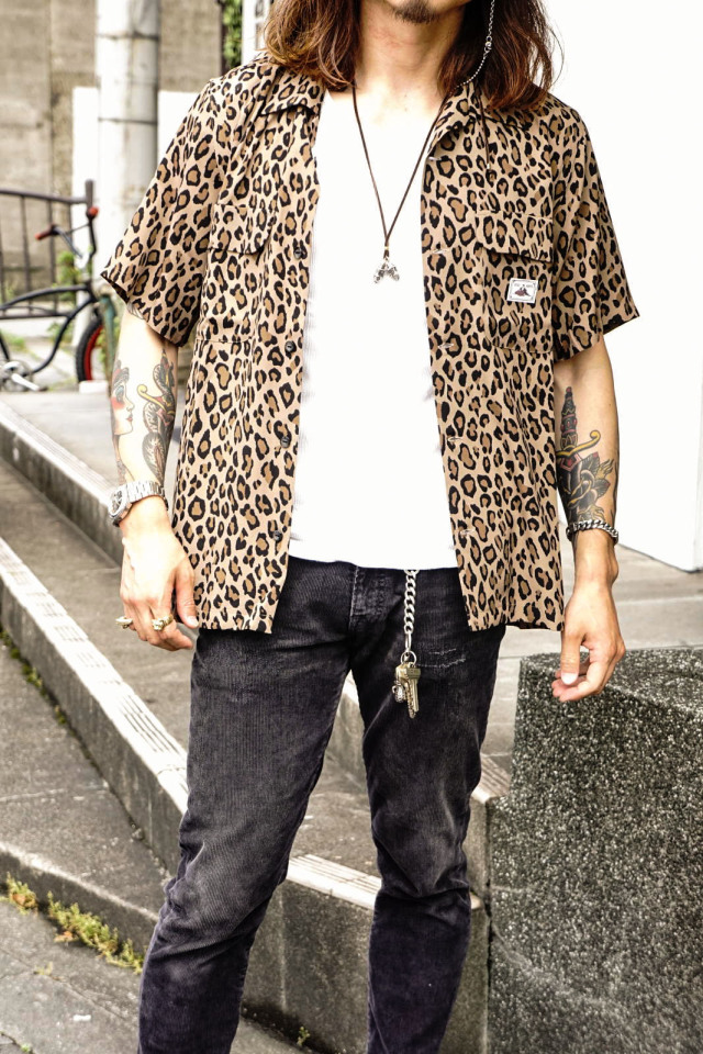 GANGSTERVILLE RISE ABOVE - S/S SHIRTS BROWN