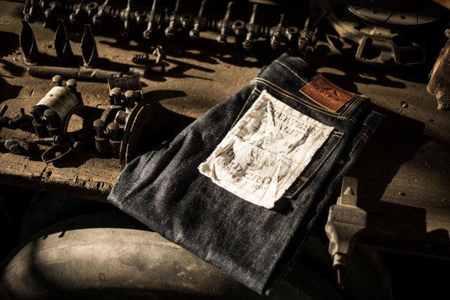 OLD CROW OLD RODDER - DENIM PANTS RIGID