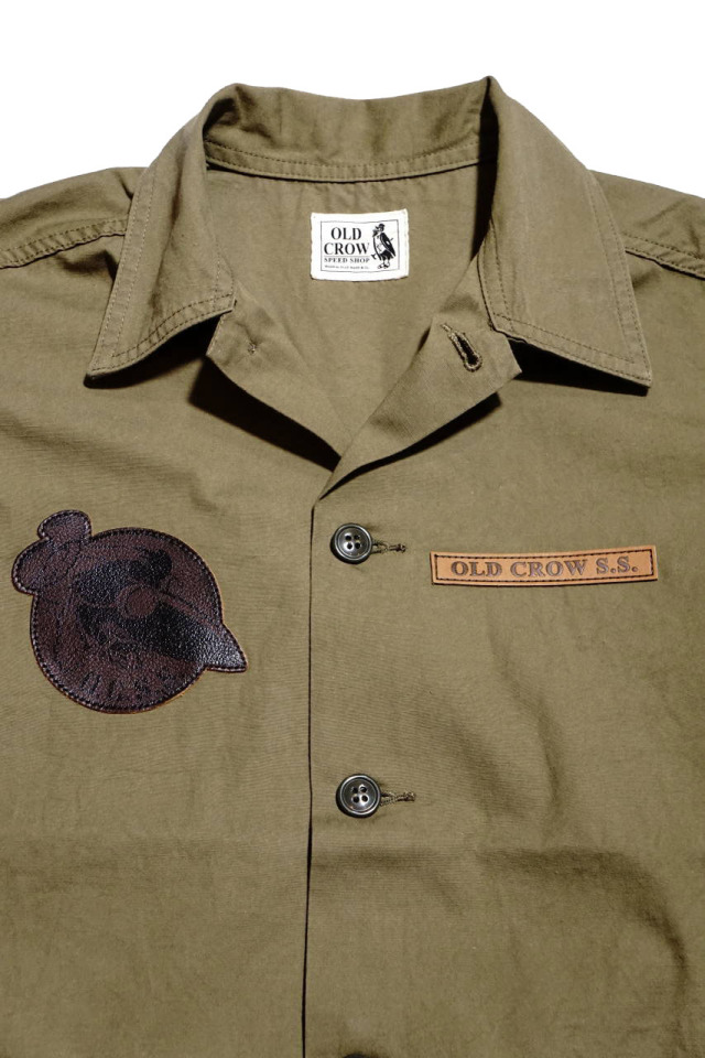 OLD CROW OLDROD M - JACKET KHAKI