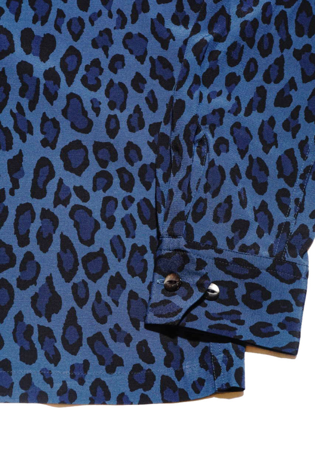 GANGSTERVILLE RISE ABOVE - L/S SHIRTS BLUE