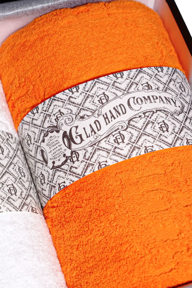 GLAD HAND & Co. FAMILY CREST - IMABARI TOWEL (2-PACK) BATH
