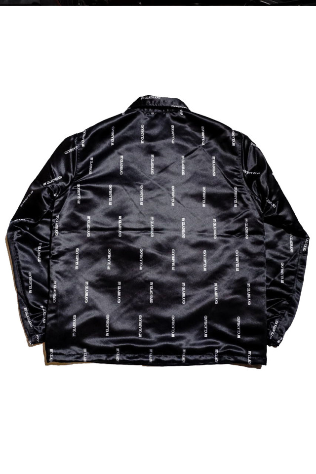 BY GLAD HAND GRACE STRIPE - COACHES JACKET BLACK
