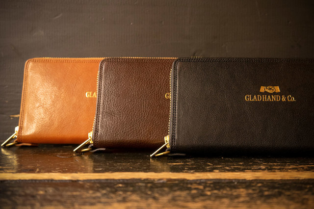 GLAD HAND & Co. ZIP WALLET