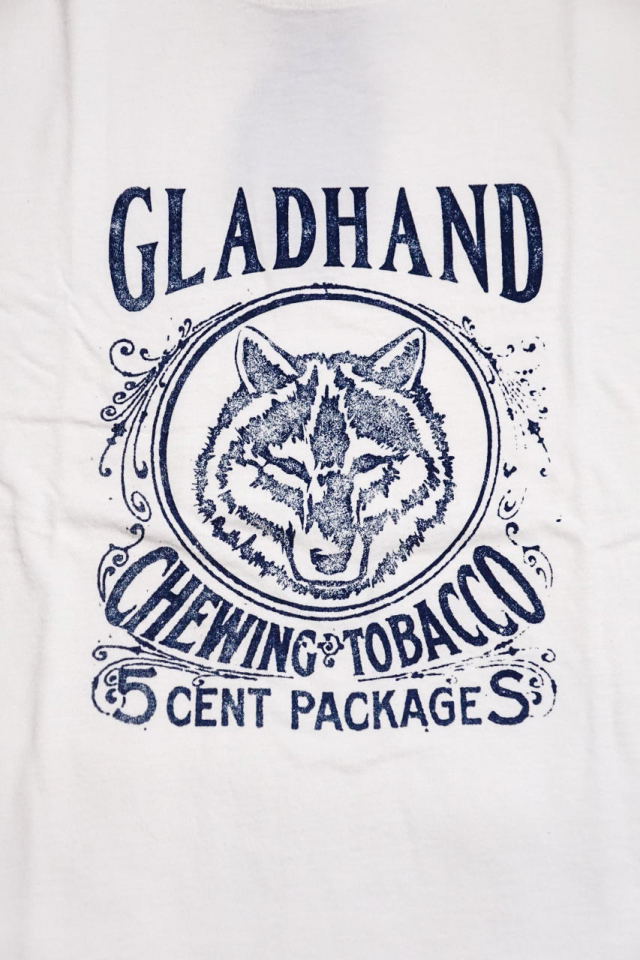 BY GLAD HAND FOR SMOKING LOWELL - S/S T-SHIRTS WHITE