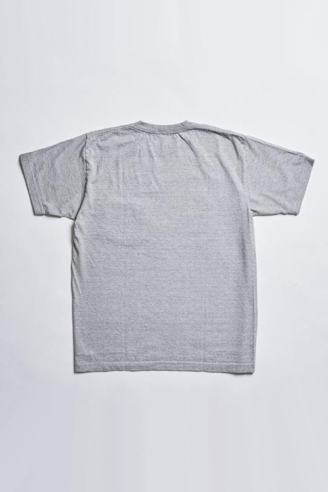 ADDICT CLOTHES JAPAN ACV-CS01 SLANTING POCKET TEE GREY