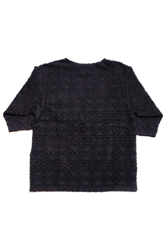 BY GLAD HAND ISLAND - H/S BOAT NECK BLACK