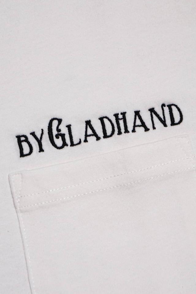 BY GLAD HAND TRADEMARK - S/S V-NECK T-SHIRTS WHITE
