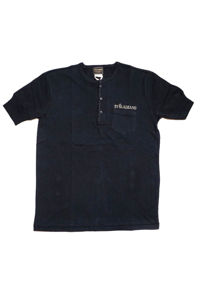 BY GLAD HAND FOR SMOKING VOYAGE - S/S HENRY T-SHIRTS BLACK