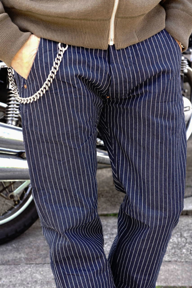 OLD CROW OLD RODDER - HICKORY PANTS NAVY