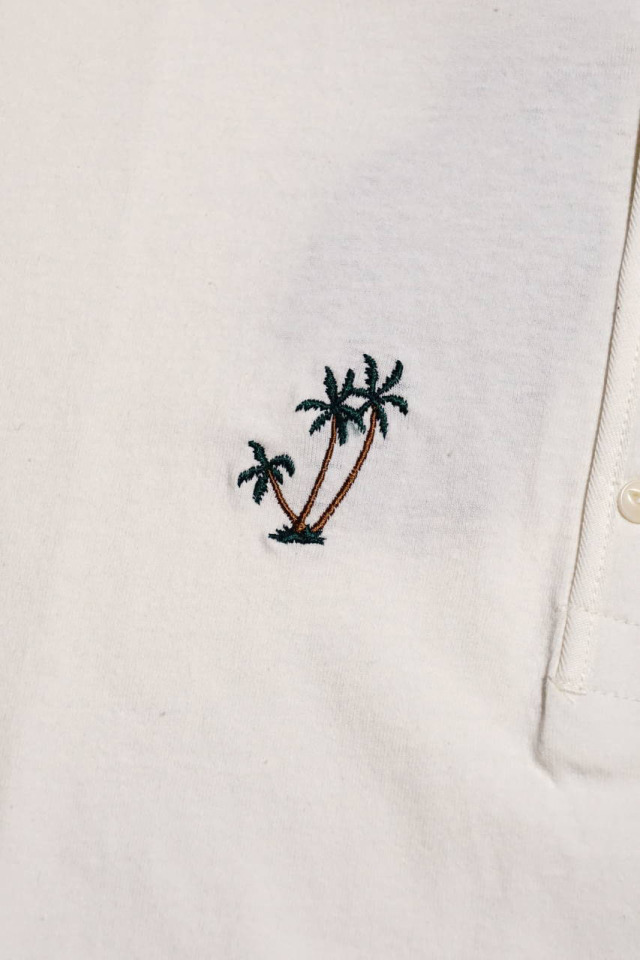 BY GLAD HAND MARY - S/S HENRY T-SHIRTS WHITE