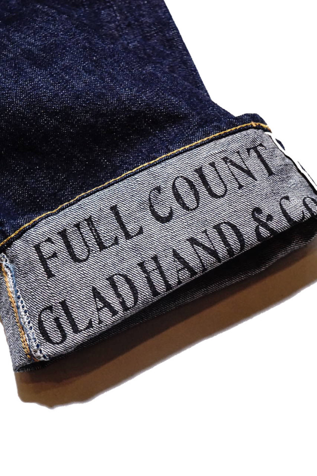 GLAD HAND × FULL COUNT 0105 LOOSE STRAIGHT ONE WASH