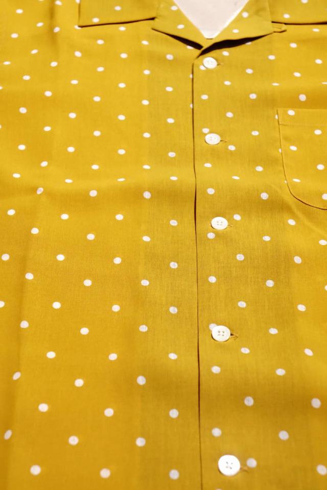 GANGSTERVILLE DIAMONDS - S/S SHIRTS MUSTARD