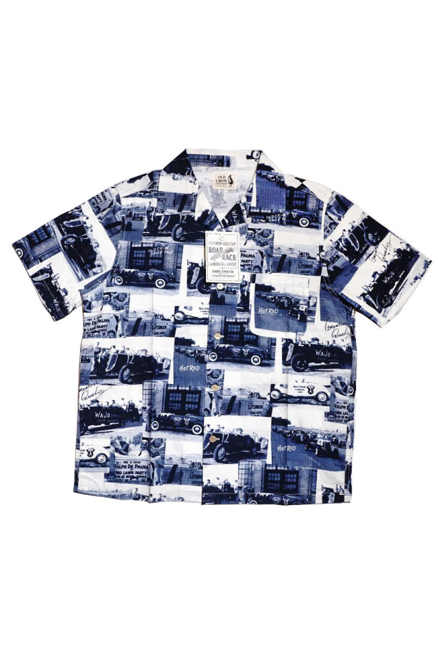 OLD CROW RACING FOR LIFE - S/S SHIRTS NAVY
