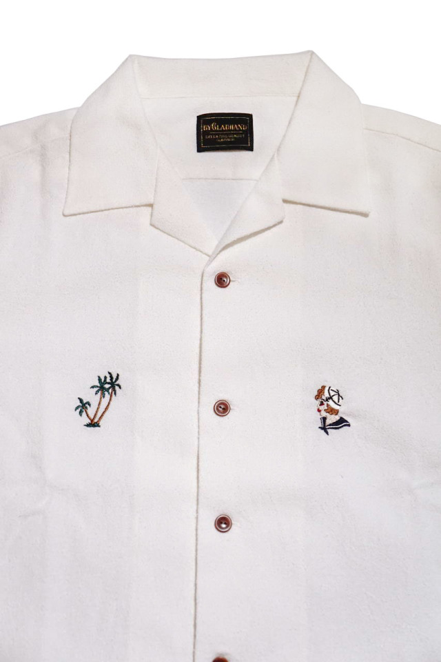 BY GLAD HAND MARY - S/S SHIRTS WHITE