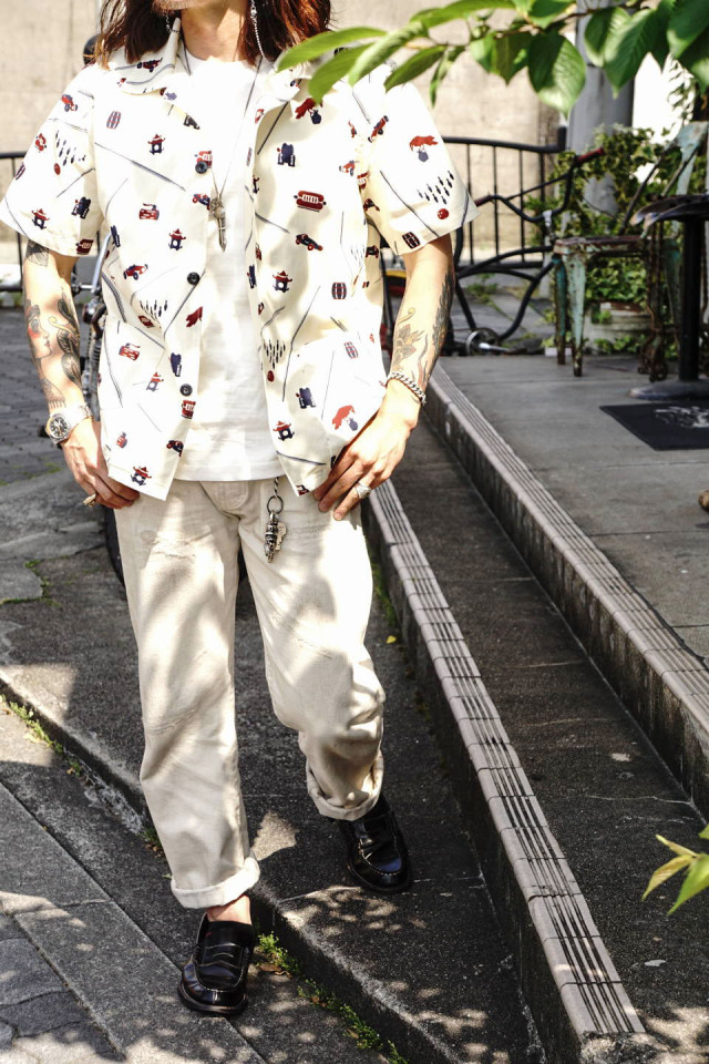OLD CROW 1933 - S/S SHIRTS IVORY
