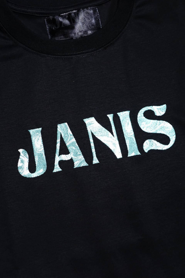 JANIS & Co. #FLUID LOGO TEE P / GREEN