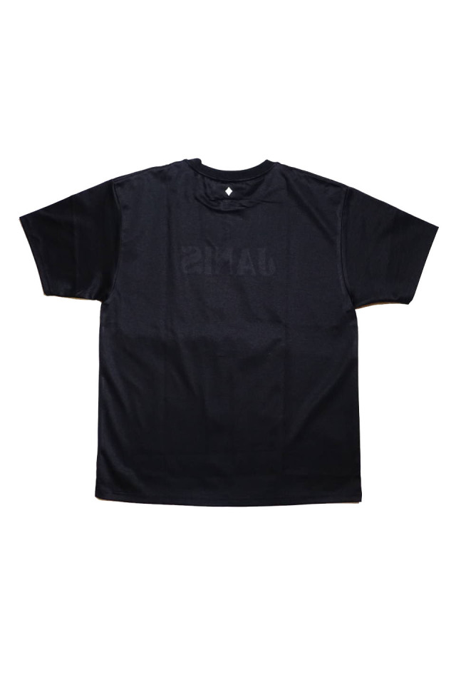 JANIS & Co. #FLUID LOGO TEE P / BLACK