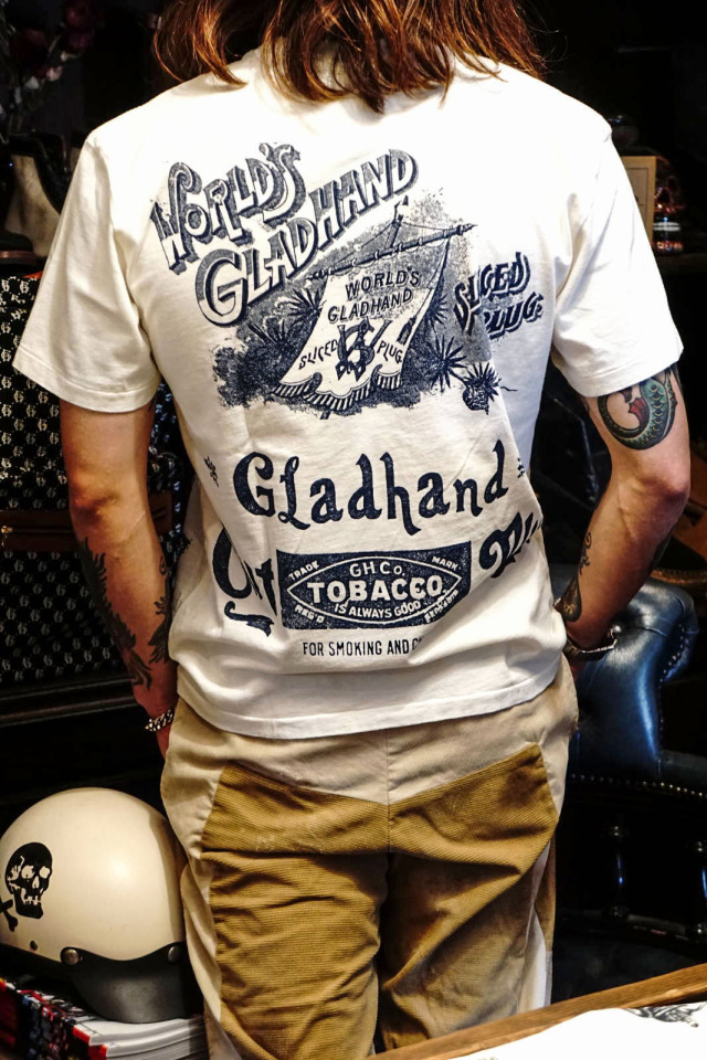 BY GLAD HAND FOR SMOKING - S/S T-SHIRTS WHITE