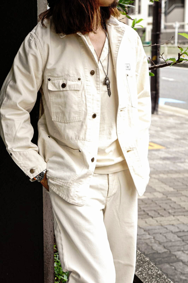 BY GLAD HAND BROTHER UNION - COVERALL IVORY