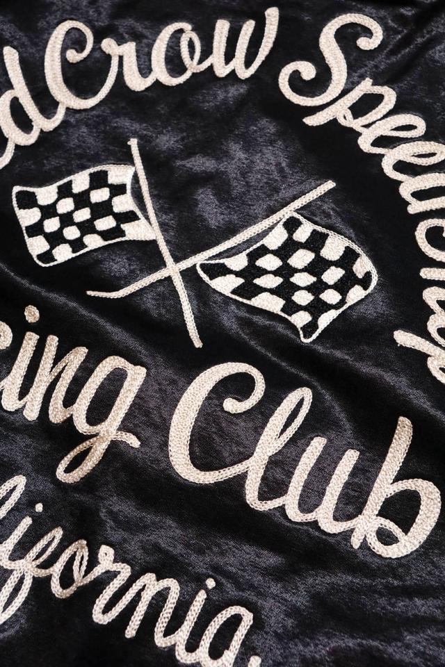 OLD CROW RACING CLUB - REVERSIBLE JACKET BLACK