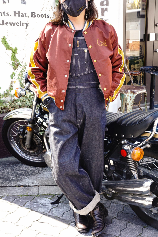OLD CROW OLD RODDER - OVERALL INDIGO