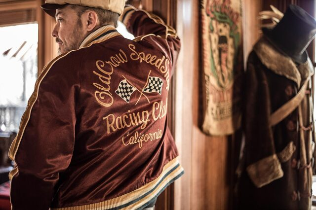 OLD CROW RACING CLUB - REVERSIBLE JACKET