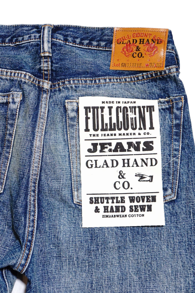 GLAD HAND × FULLCOUNT 1111 SLIM STRAIGHT