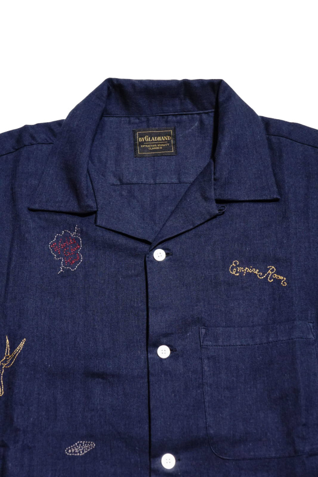 BY GLAD HAND EMPIRE ROOM - L/S SHIRTS NAVY