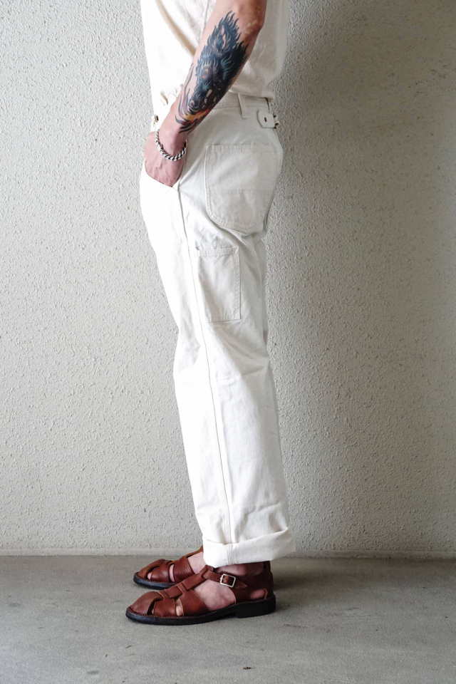 OLD CROW OLD PAINTER - PANTS IVORY