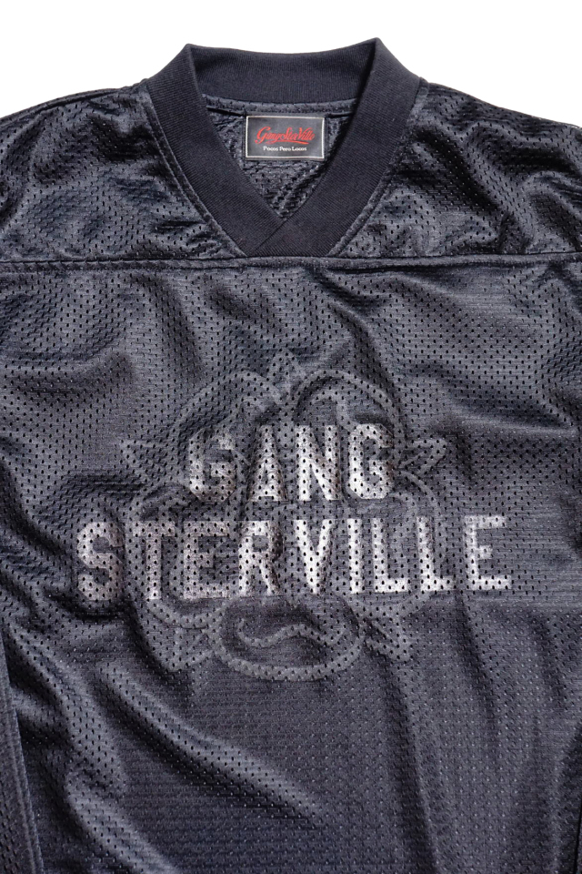 GANGSTERVILLE TEXAS ROSE - GAME SHIRTS BLACK