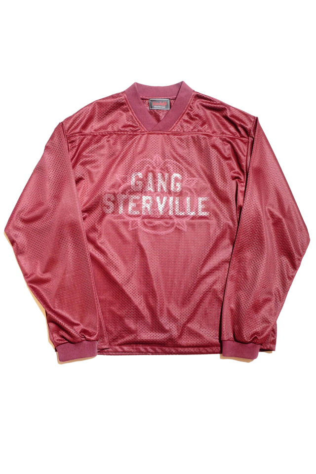 GANGSTERVILLE TEXAS ROSE - GAME SHIRTS BURGUNDY
