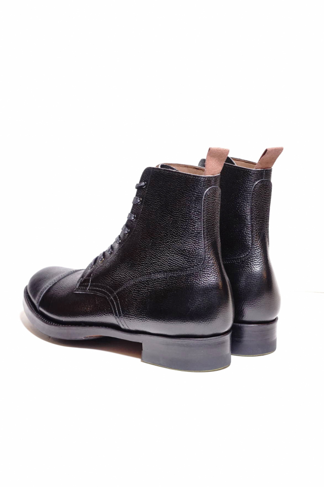 CLINCH Graham Boots Black Embos ※B.S.W. Special Order