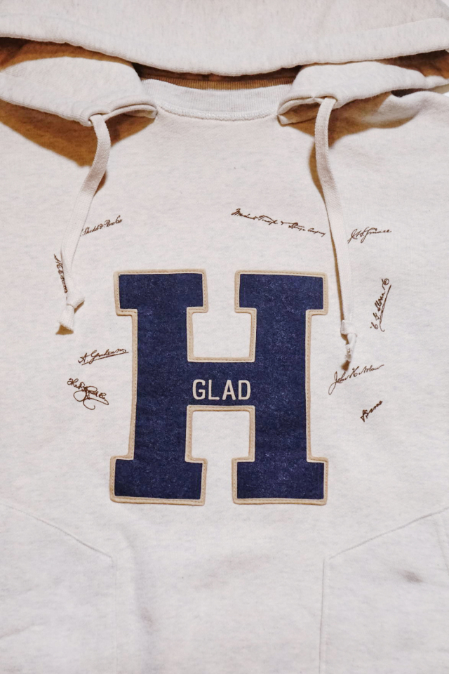 BY GLAD HAND COLLEGIATE - AFTER HOODIE NAVY