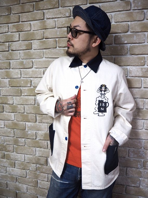 5 WHISTLE TWO TONE BEER JACKET