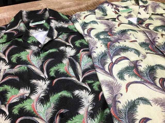 5 WHISTLE HAWAIIAN - SHIRT BEIGE