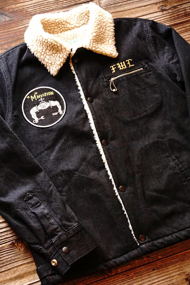 5 WHISTLE SAILOR'S BOA JACKET BLACK