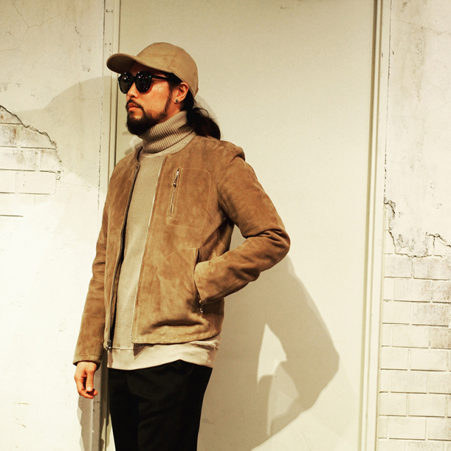 JANIS & Co. SUEDE RIDERS JACKET