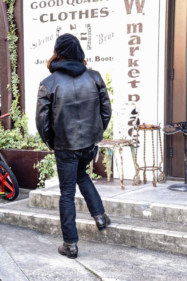 ADDICT CLOTHES JAPAN ACVM HEAVY WEIGHT ZIP UP PARKA BLACK