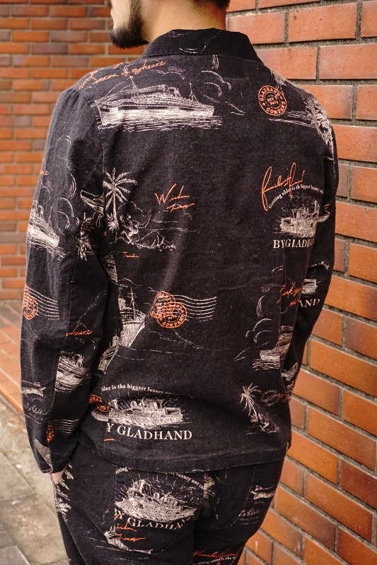 BY GLAD HAND POSTAL - JACKET BLACK