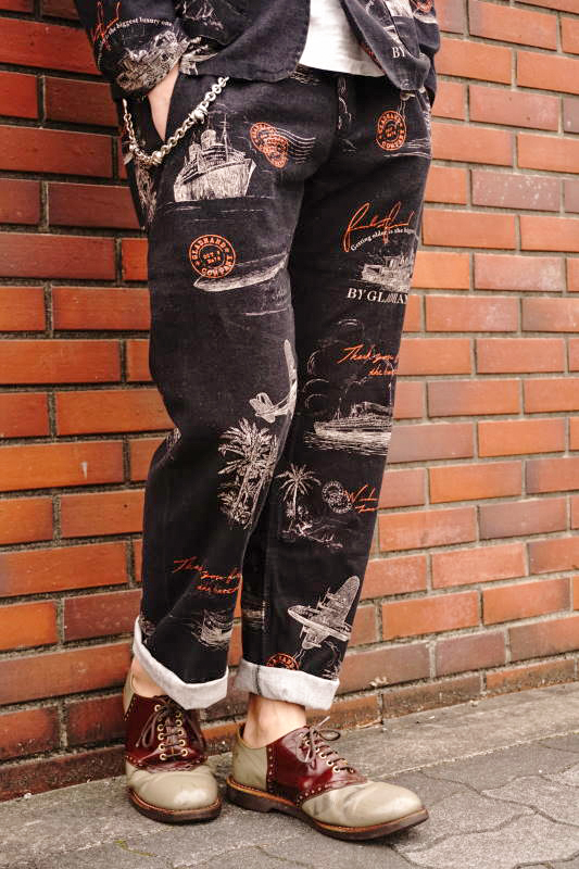 BY GLAD HAND POSTAL - PANTS BLACK