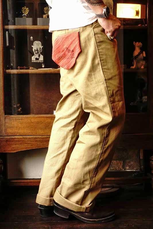 GANGSTERVILLE GREASER - PANTS BEIGE