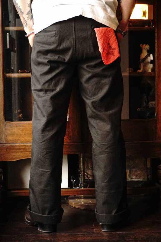 GANGSTERVILLE GREASER - PANTS BLACK